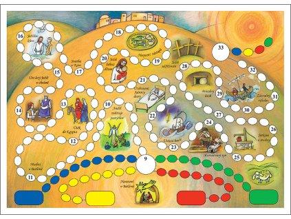 PX6 V Jezisovych stopach hraci plan